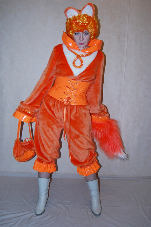 Костюм лисы взрослый своими руками фото